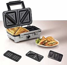 AYDQC Waffle Maker with Removable Plates Morning