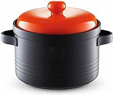 AYHa Clay Casserole Stew Pot Ceramic Casserole -
