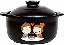AYHa Clay Pot Earth Pot Onion Crock Soup Korean