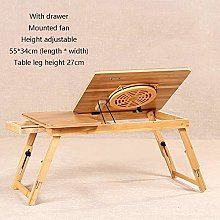 AYHa Coffee Height Adjustable Bed Laptop Lazy