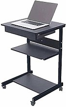 AYHa Home Desk, Laptop, Movable Height Adjustable