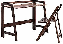 AYHa Home Foldable Desk Wooden Chair Pine
