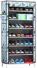 AYHa Under Stairs Shoes Storage 7-Layer Shoe Rack,