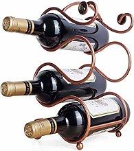AYHa Wine Bottle Rack,Free Standing 4 Bottles