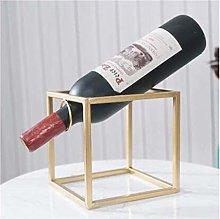 AYHa Wine Bottle Rack,Free Standing Gold Metal