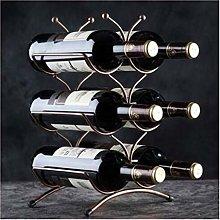 AYHa Wine Bottle Rack,Metal Wine Holder Free
