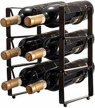 AYHa Wine Bottle Rack,Metal Wine Holder