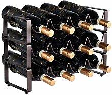 AYHa Wine Bottle Rack,Stackable Modular Design