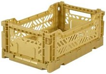 AYKASA - Mini Folding Storage Box Gold