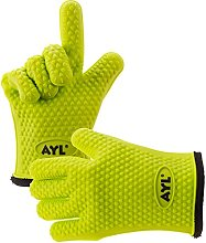 AYL Silicone Cooking Gloves - Heat Resistant Oven