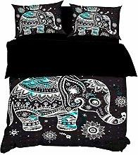 AYMAYO Baby Kids Bedding Set Elephant Theme