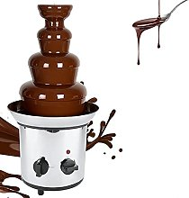 AYNEFY Chocolate Fondue Maker, 4 Tiers Stainless