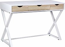 AYNEFY Computer Desk Study Table with Drawer,