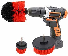 AYNEFY Drill Brush Kit, 3 Pieces Power Scrubber