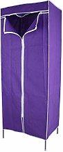 AYNEFY Foldable Wardrobe, Single Canvas Fabric
