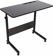 AYNEFY Portable Adjustable Wooden Bedside Table