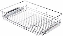 AYNEFY Pull-Out Basket, Stainless Steel Kitchen