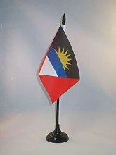 AZ FLAG Antigua and Barbuda Table Flag 4''