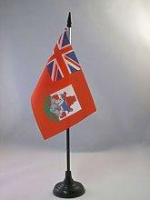 AZ FLAG Bermuda Table Flag 4'' x