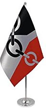 AZ FLAG Black country prestige Table Flag