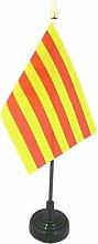 AZ FLAG Catalonia Table Flag 4'' x
