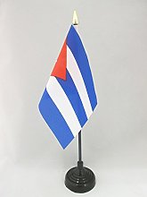 AZ FLAG Cuba Table Flag 4'' x 6''