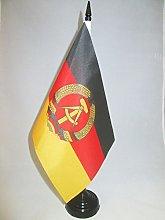 AZ FLAG East Germany Table Flag 5'' x
