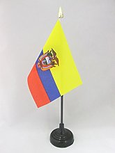 AZ FLAG Ecuador Table Flag 4'' x