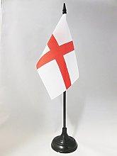 AZ FLAG England Table Flag 4'' x