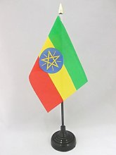 AZ FLAG Ethiopia Table Flag 4'' x