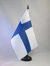 AZ FLAG Finland Table Flag 5'' x