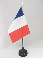 AZ FLAG France Table Flag 4'' x