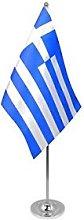 AZ FLAG Greece prestige Table Flag 6'' x