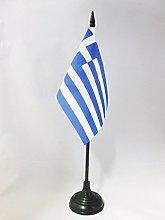 AZ FLAG Greece Table Flag 4'' x