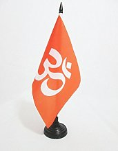 AZ FLAG Hinduism religion Table Flag 5'' x