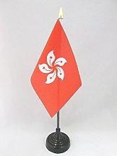 AZ FLAG Hong Kong Table Flag 4'' x