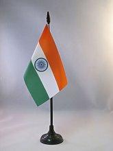 AZ FLAG India Table Flag 4'' x 6''