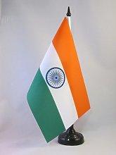 AZ FLAG India Table Flag 5'' x 8''