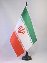 AZ FLAG Iran Table Flag 5'' x 8''
