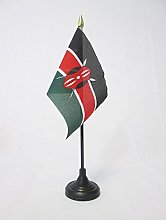 AZ FLAG Kenya Table Flag 4'' x 6''