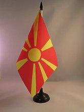 AZ FLAG Macedonia Table Flag 5'' x