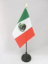 AZ FLAG Mexico Table Flag 4'' x
