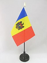 AZ FLAG Moldova Table Flag 4'' x