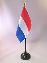 AZ FLAG Netherlands Table Flag 4'' x