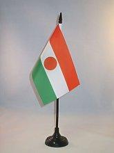 AZ FLAG Niger Table Flag 4'' x 6''