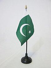 AZ FLAG Pakistan Table Flag 4'' x
