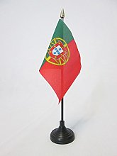 AZ FLAG Portugal Table Flag 4'' x