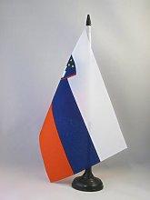 AZ FLAG Slovenia Table Flag 5'' x