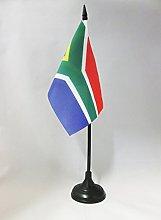 AZ FLAG South Africa Table Flag 4'' x