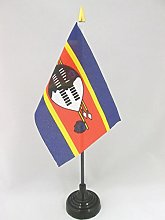 AZ FLAG Swaziland Table Flag 4'' x